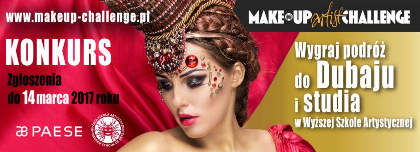 make-up artist challenge, wyższa szkoła artystyczna, makijaż fashion, makeup, kreatywne kierunki studiów, charakteryzacja