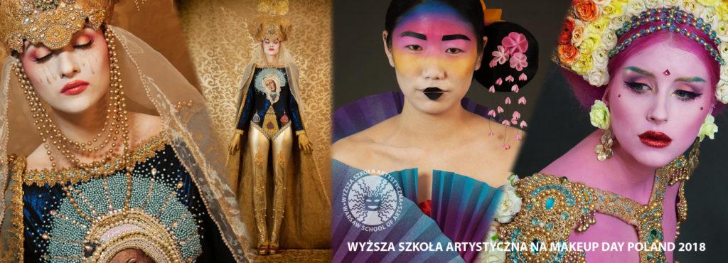 makeup day, kostium, kolor, charakteryzacja, orient, folklor, kobieta, wyzsza szkola artystyczna