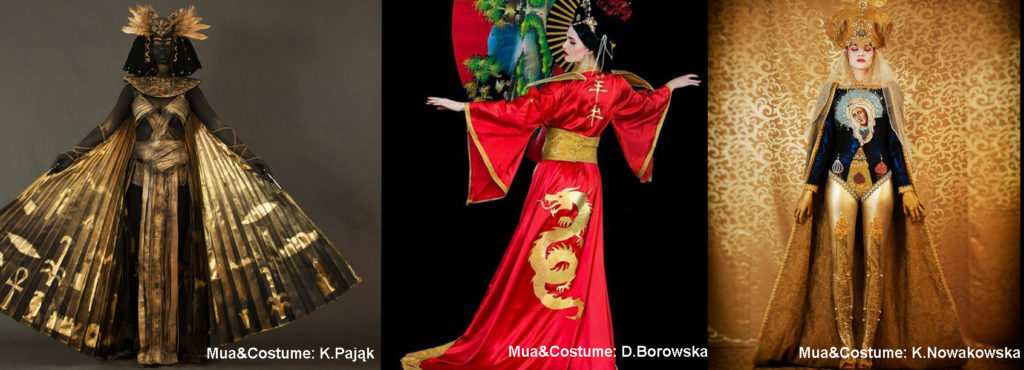 kreator, targi, poznan, kostium, folklor, chiny, rosja, egipt, makeup, charakteryzacja, makijaz