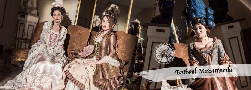 mozart, festiwal, wyższa szkoła artystyczna, kostium, barok, epoka