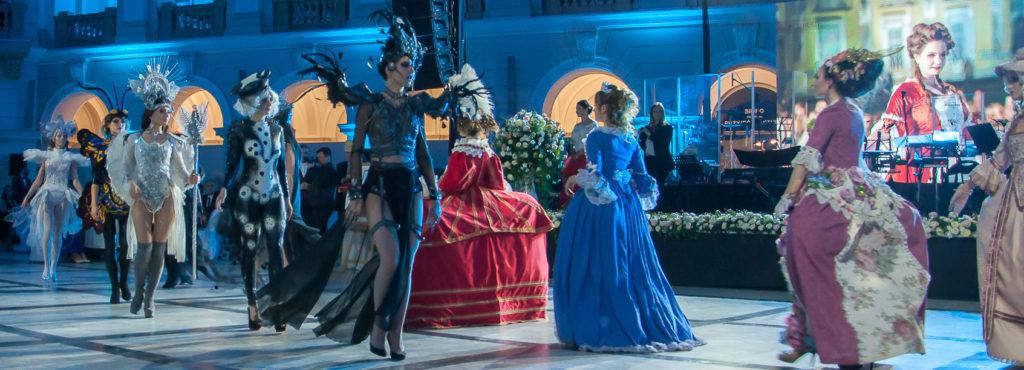kostium, charakteryzacja, bal, politechnika, pokaz, widowisko, epoka, anioł, demon, makro, wyższa szkoła artystyczna