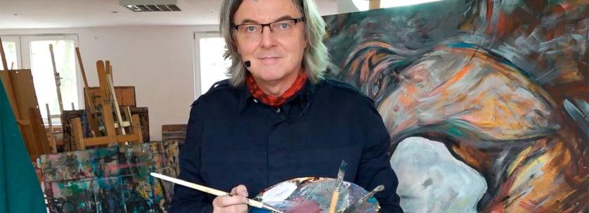 Robert Manowski - malarstwo w czasie zarazy